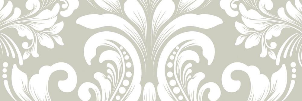 Barok behang met een Patroon