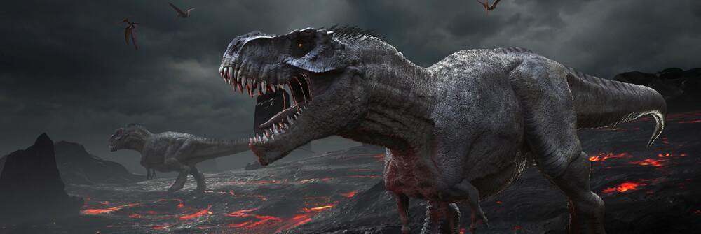 Fotobehang met Dinosaurussen