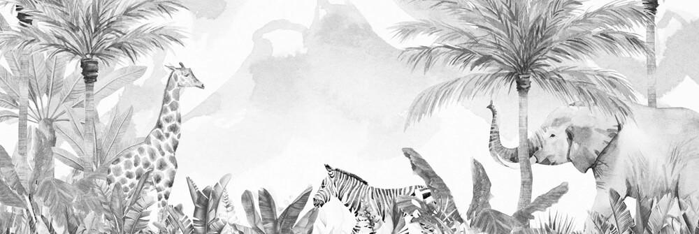 Jungle Fotobehang voor kinderen