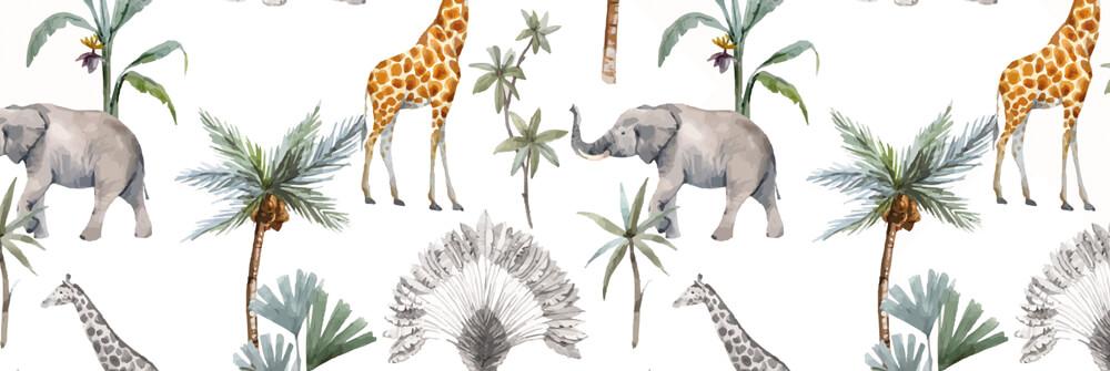 Behang met patronen voor kinderen