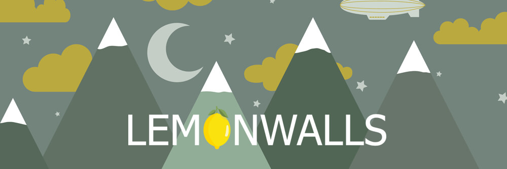 Lemonwalls behang