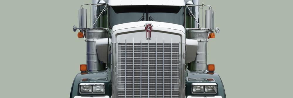 Vrachtwagen behang