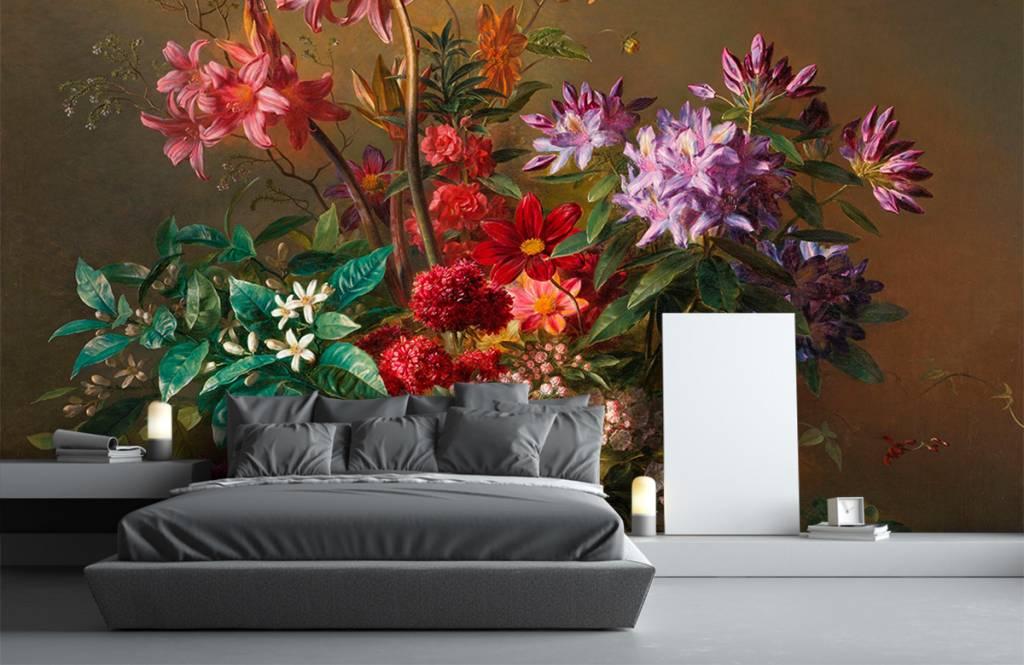 Stillevens en Bloemen - Stilleven met bloemen in een Griekse vaas - Woonkamer 6