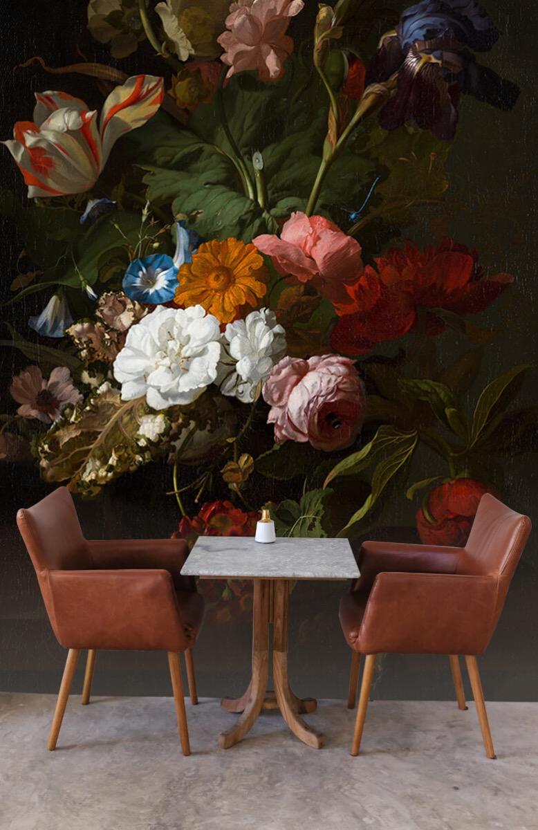 Rijksmuseum - Vaas met bloemen, Jan Davidsz - Woonkamer 3