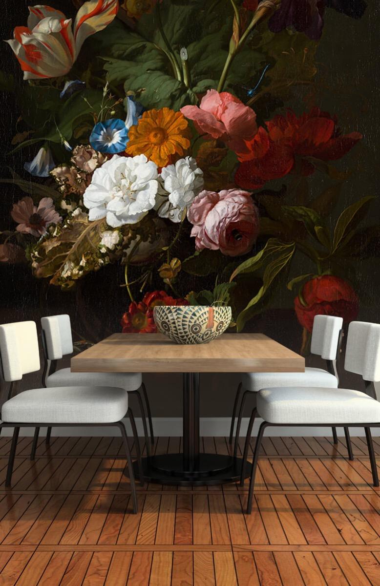 Rijksmuseum - Vaas met bloemen, Jan Davidsz - Woonkamer 5