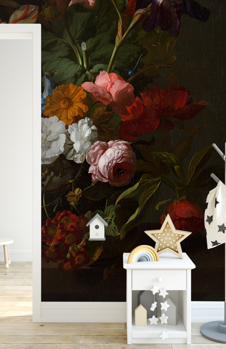 Rijksmuseum - Vaas met bloemen, Jan Davidsz - Woonkamer 6