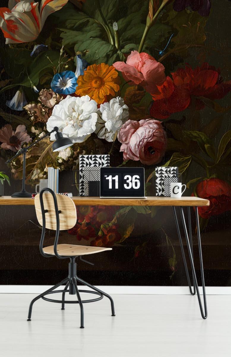 Rijksmuseum - Vaas met bloemen, Jan Davidsz - Woonkamer 9