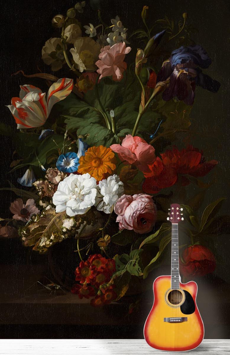 Rijksmuseum - Vaas met bloemen, Jan Davidsz - Woonkamer 11
