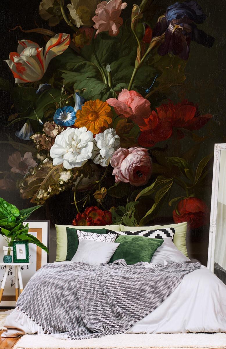 Rijksmuseum - Vaas met bloemen, Jan Davidsz - Woonkamer 13