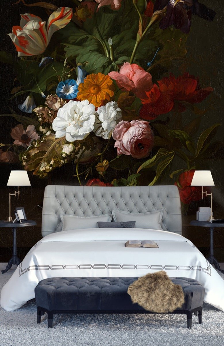 Rijksmuseum - Vaas met bloemen, Jan Davidsz - Woonkamer 14