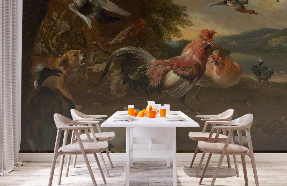 Rijksmuseum - Kippen en eenden - Keuken 1