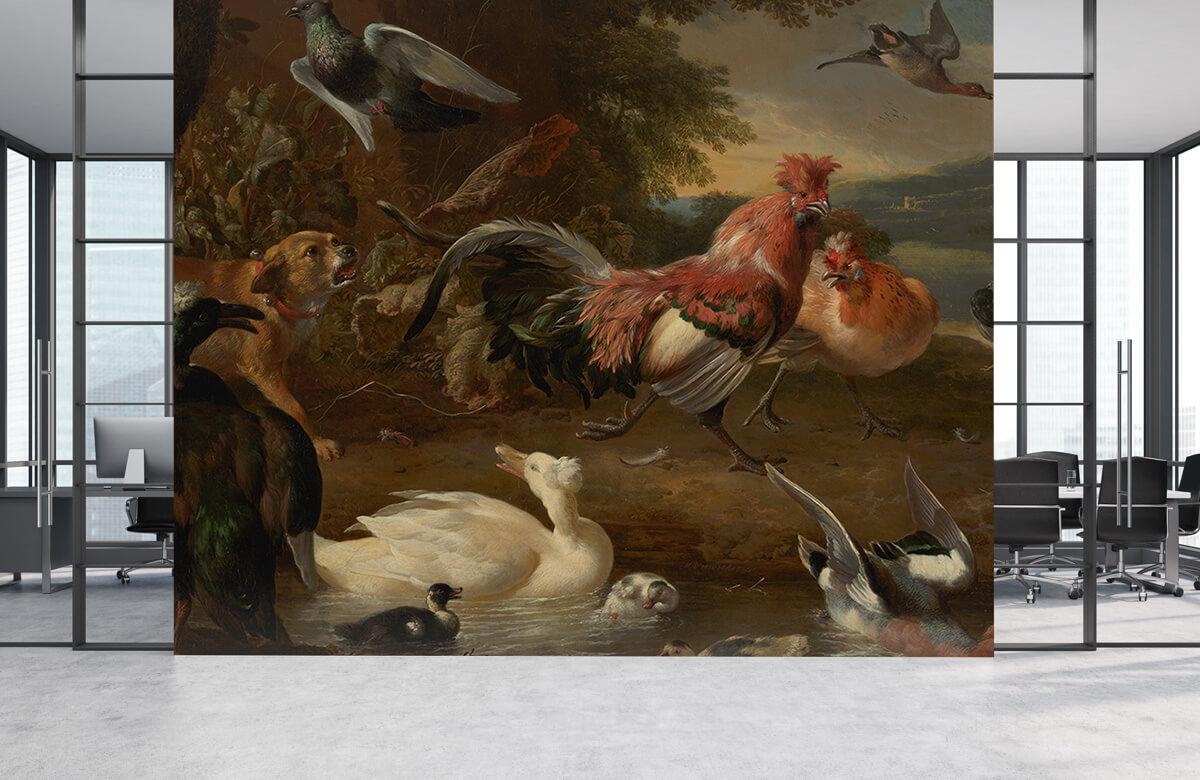 Rijksmuseum - Kippen en eenden - Keuken 3