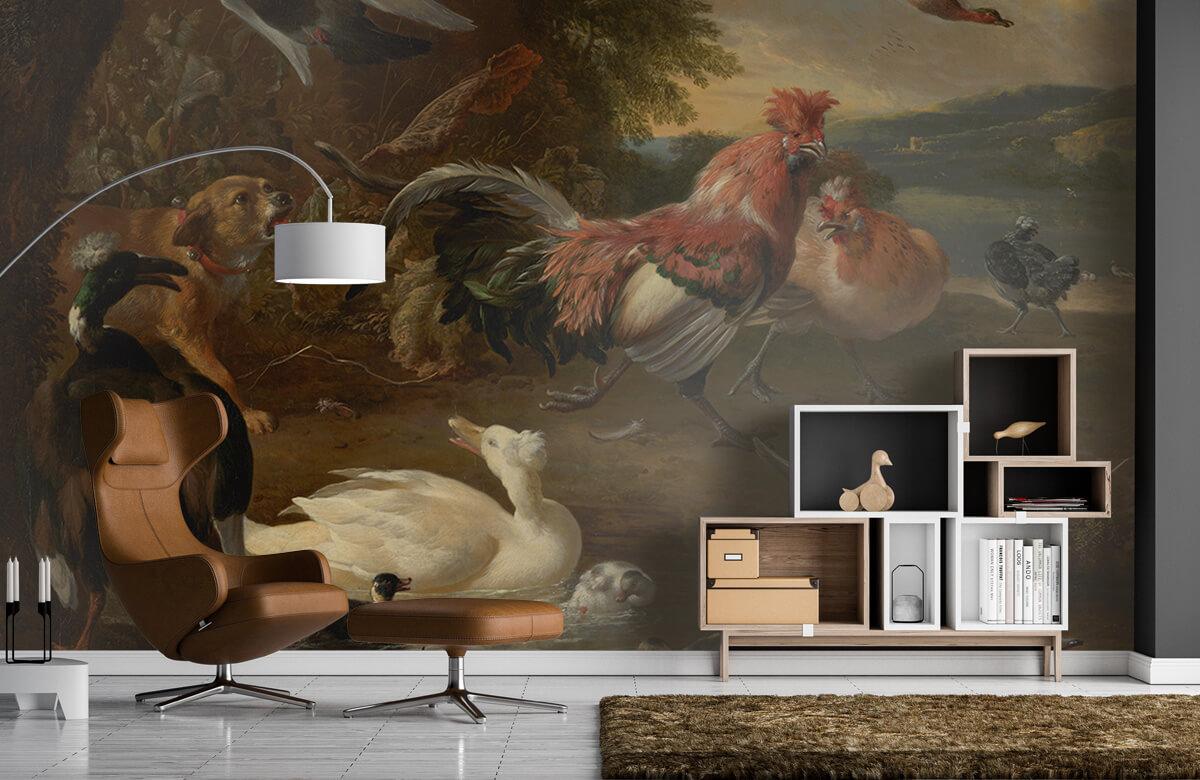 Rijksmuseum - Kippen en eenden - Keuken 4