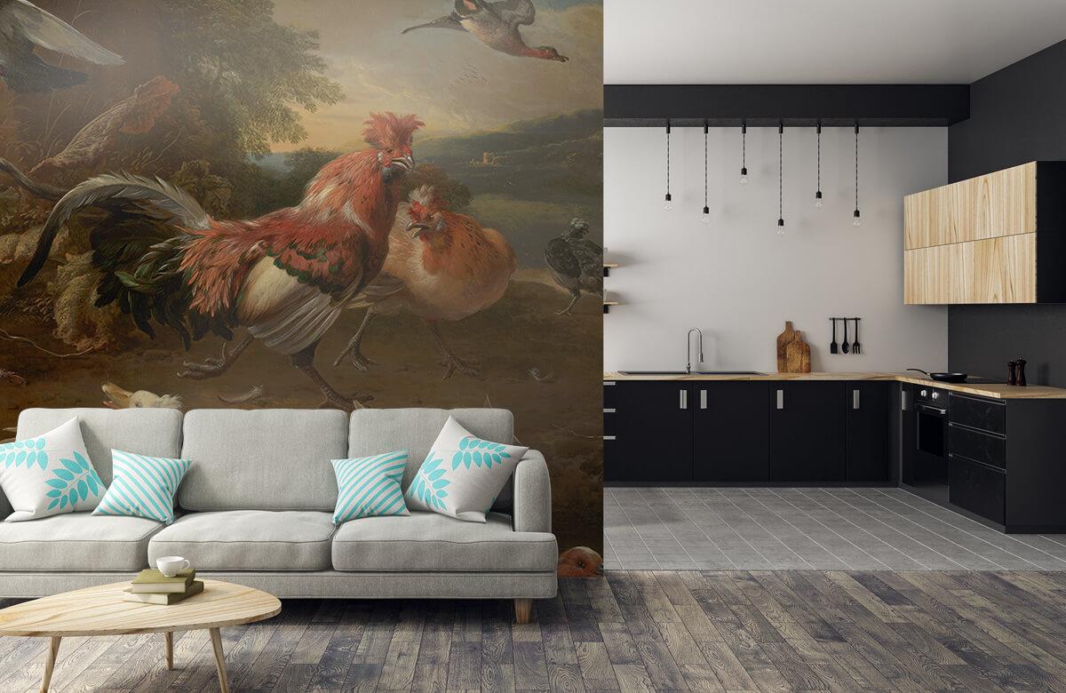 Rijksmuseum - Kippen en eenden - Keuken 5