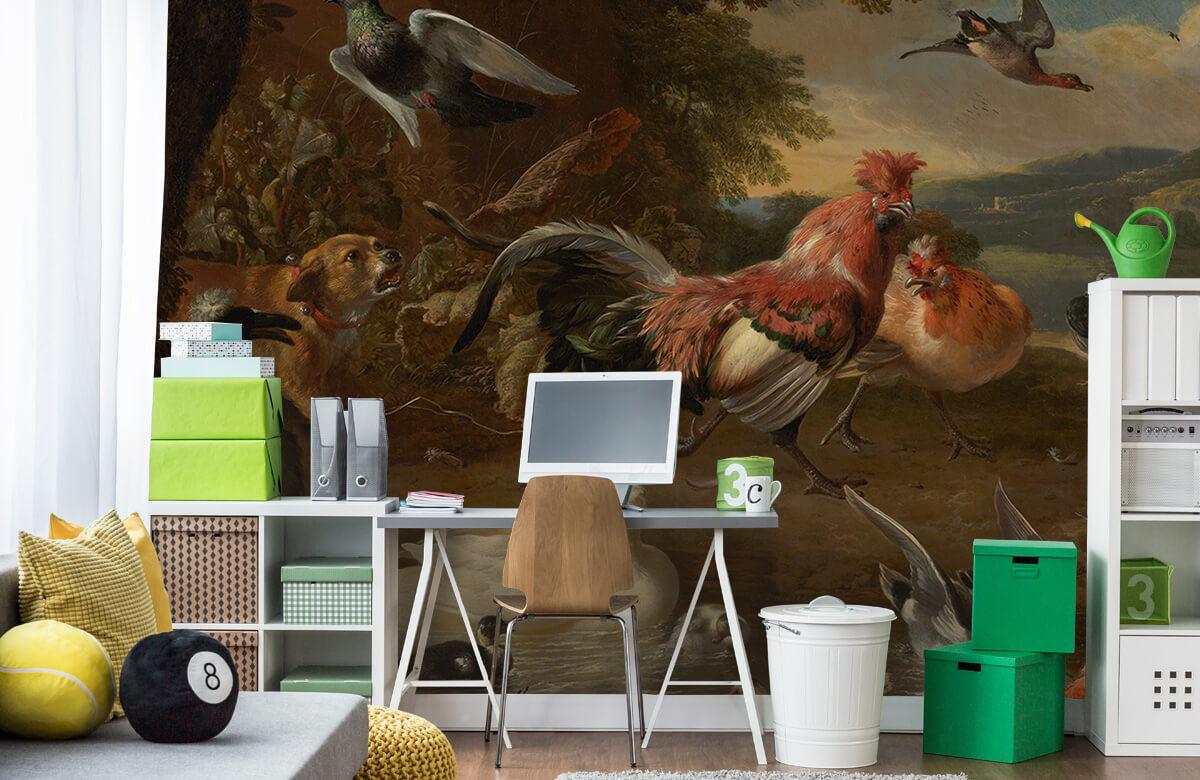 Rijksmuseum - Kippen en eenden - Keuken 9