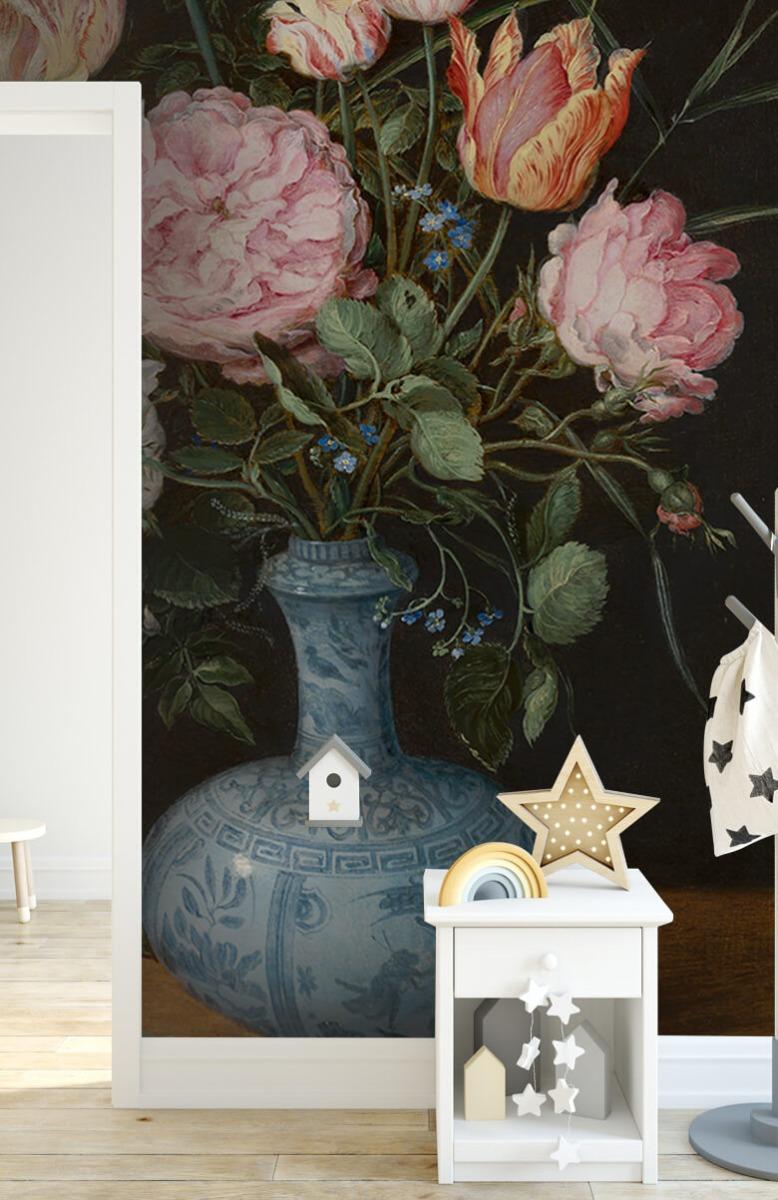Rijksmuseum - Wan-Li-vaas met bloemen - Woonkamer 6