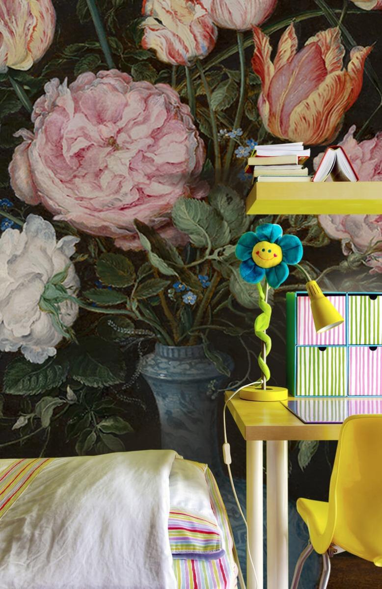 Rijksmuseum - Wan-Li-vaas met bloemen - Woonkamer 7