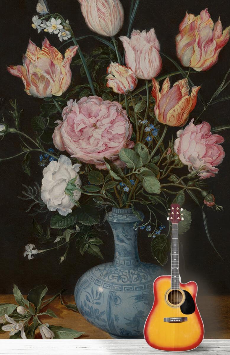 Rijksmuseum - Wan-Li-vaas met bloemen - Woonkamer 11