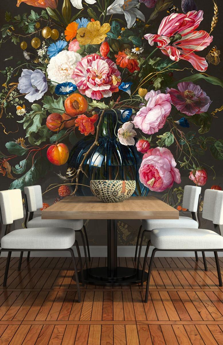 Rijksmuseum - Vaas met bloemen - Keuken 5