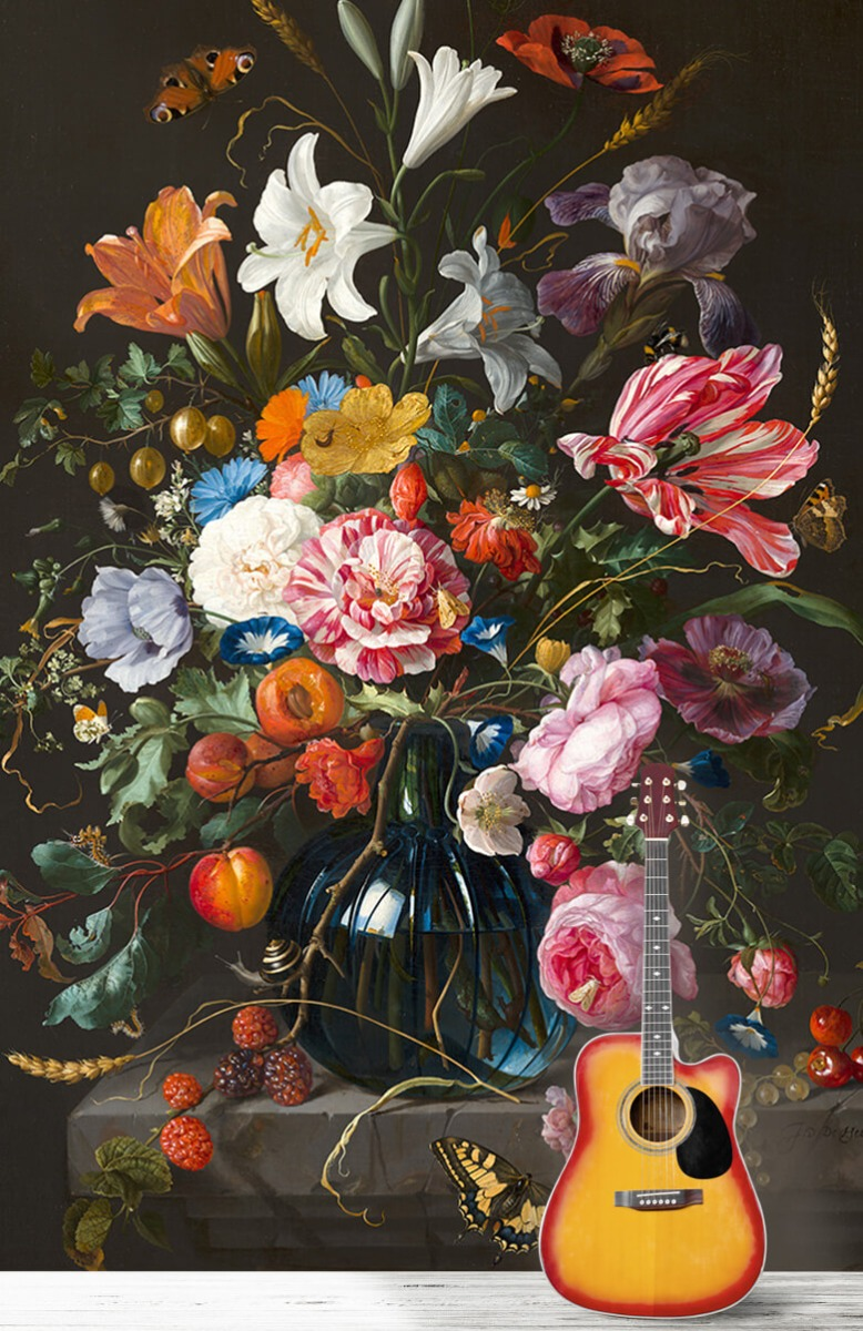 Rijksmuseum - Vaas met bloemen - Keuken 11