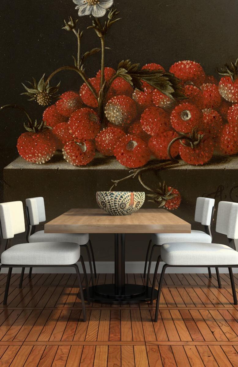 Rijksmuseum - Stilleven met bosaardbeien - Keuken 5
