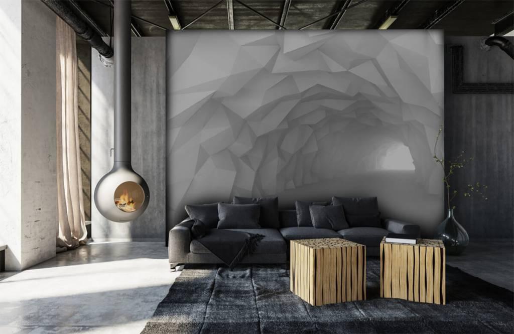 Overige - Puntige tunnel in 3D - Tienerkamer 6