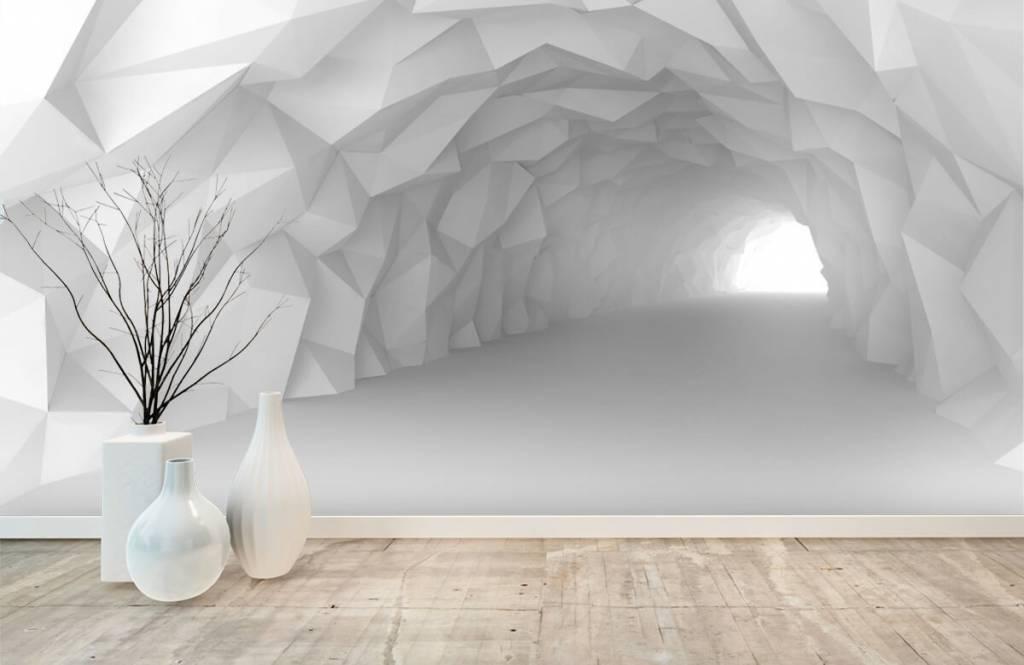 Overige - Puntige tunnel in 3D - Tienerkamer 8