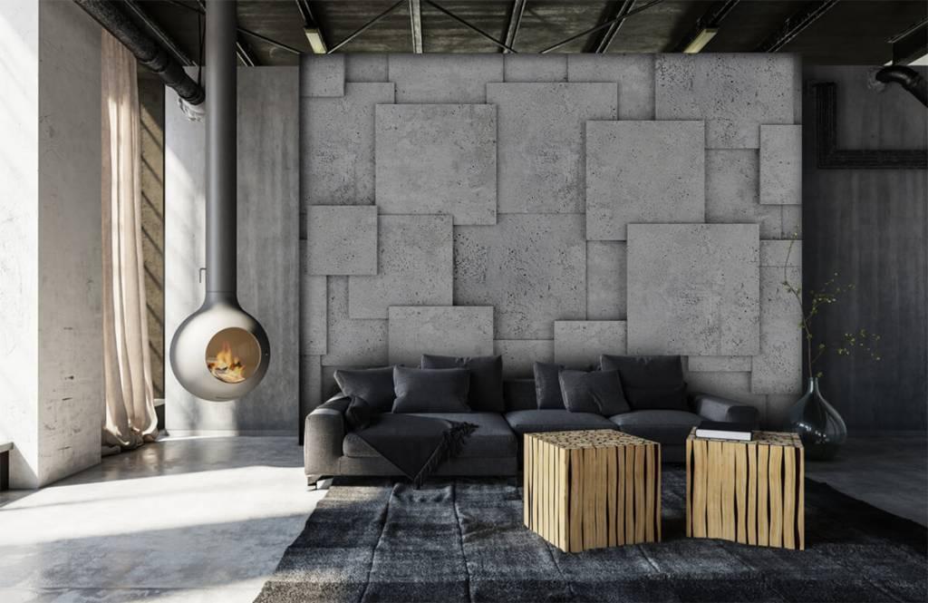 Overige teksturen - Vierkante tegels in 3D - Slaapkamer 6