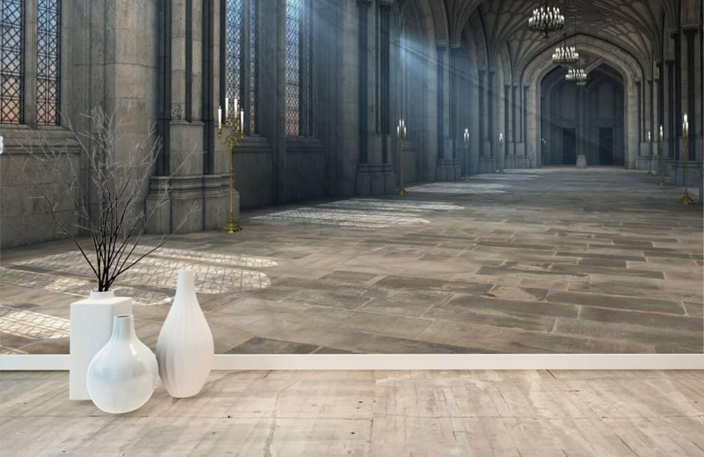 Gebouwen - 3D Kathedraal - Hobbykamer 8