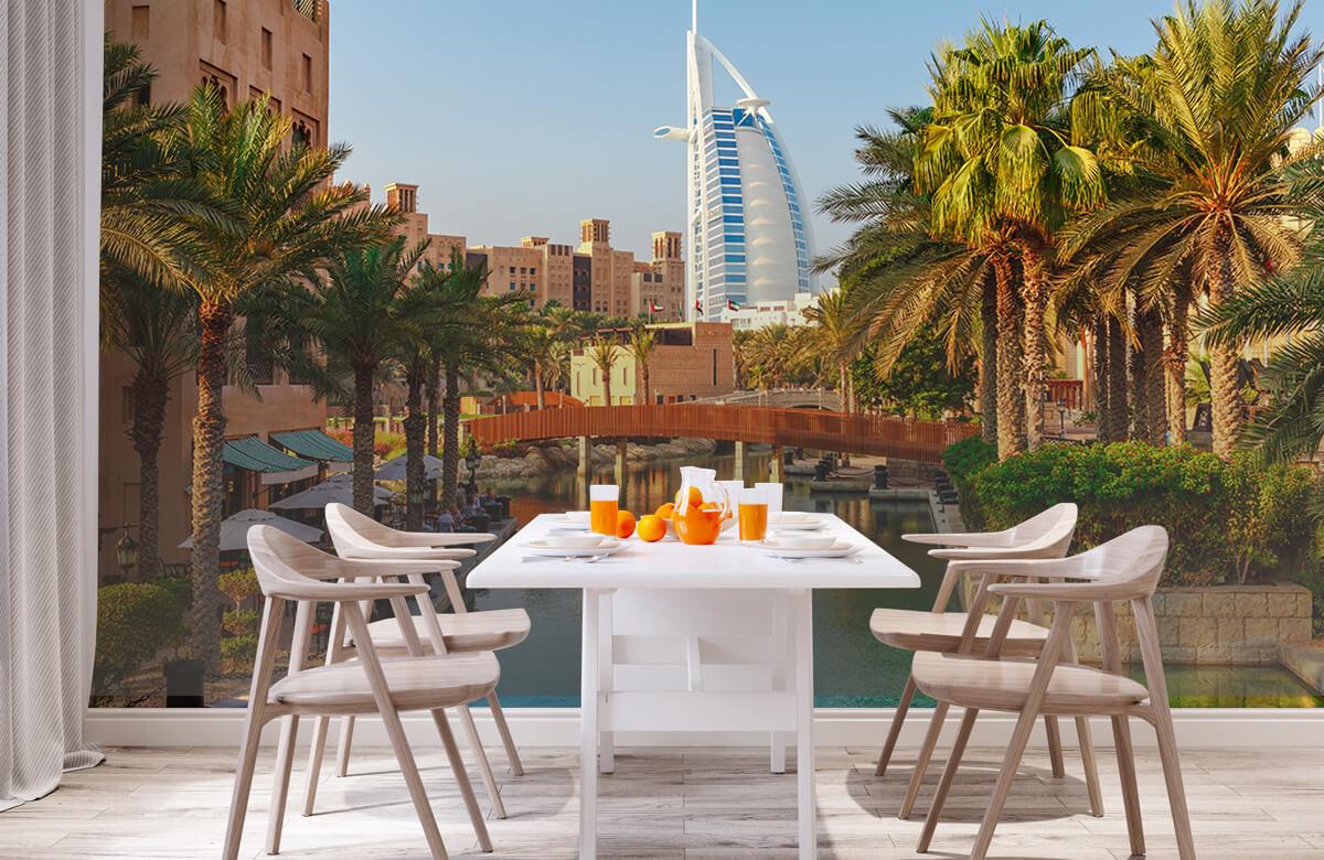 Steden behang - Dubai, Jumeirah beach hotel - Slaapkamer 1