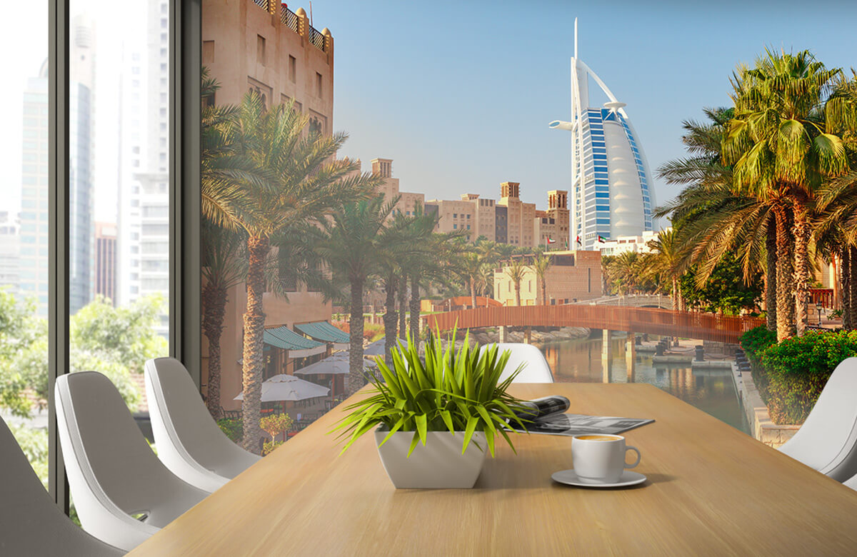 Steden behang - Dubai, Jumeirah beach hotel - Slaapkamer 2