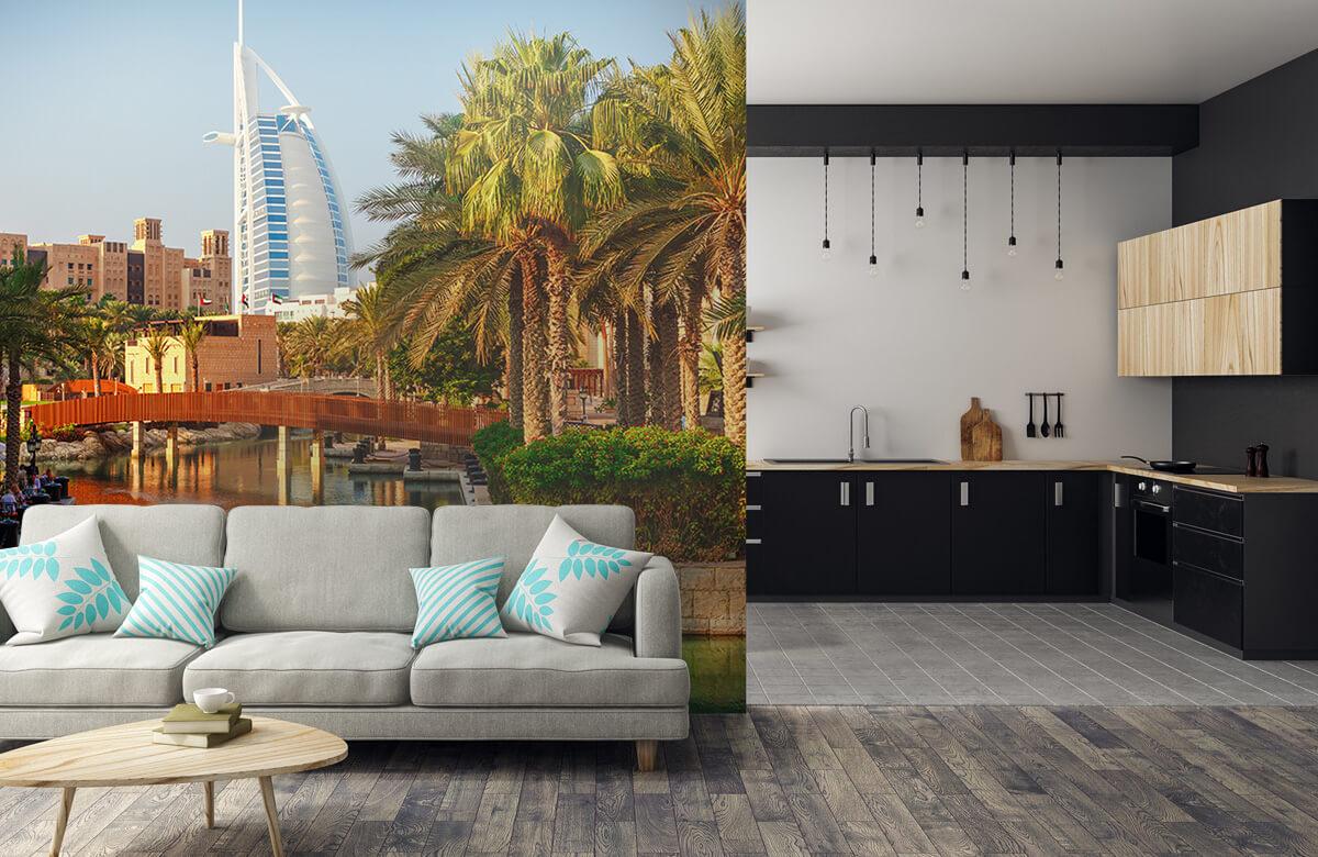 Steden behang - Dubai, Jumeirah beach hotel - Slaapkamer 5