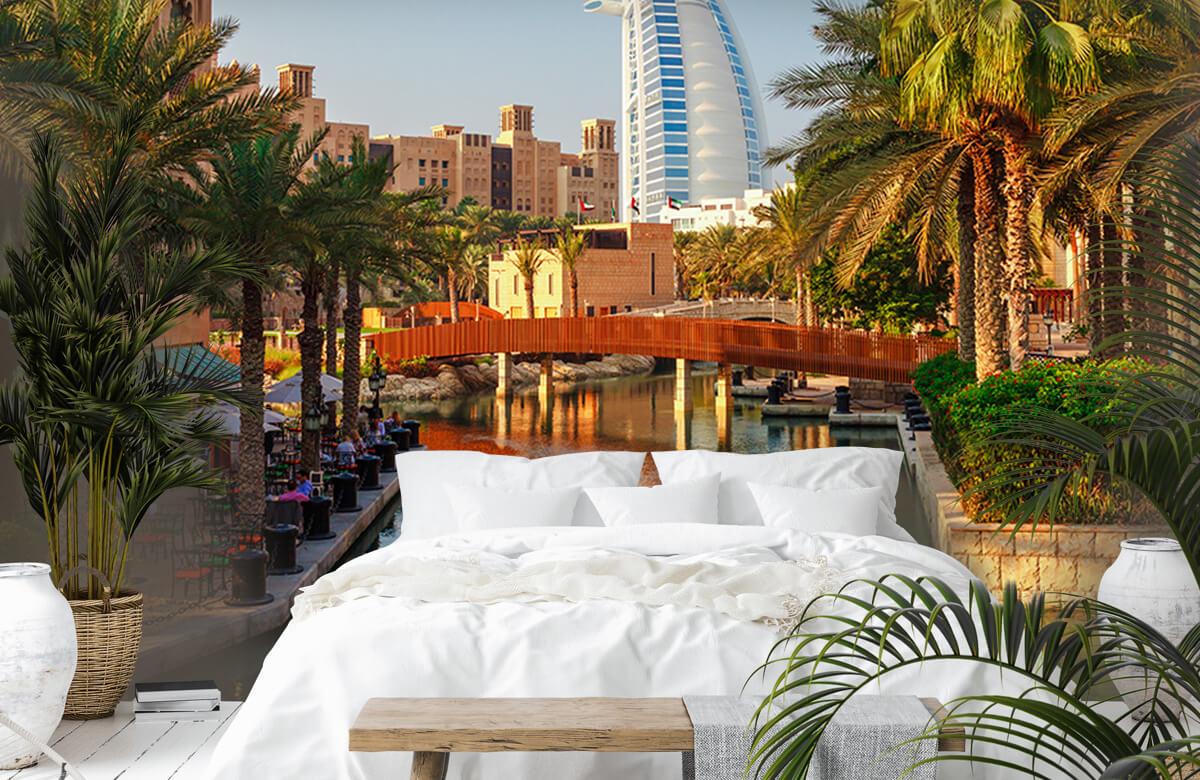 Steden behang - Dubai, Jumeirah beach hotel - Slaapkamer 6