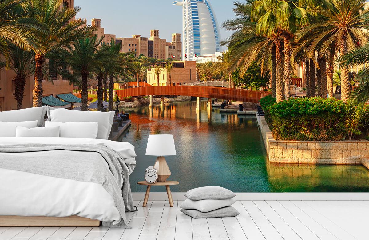 Steden behang - Dubai, Jumeirah beach hotel - Slaapkamer 7