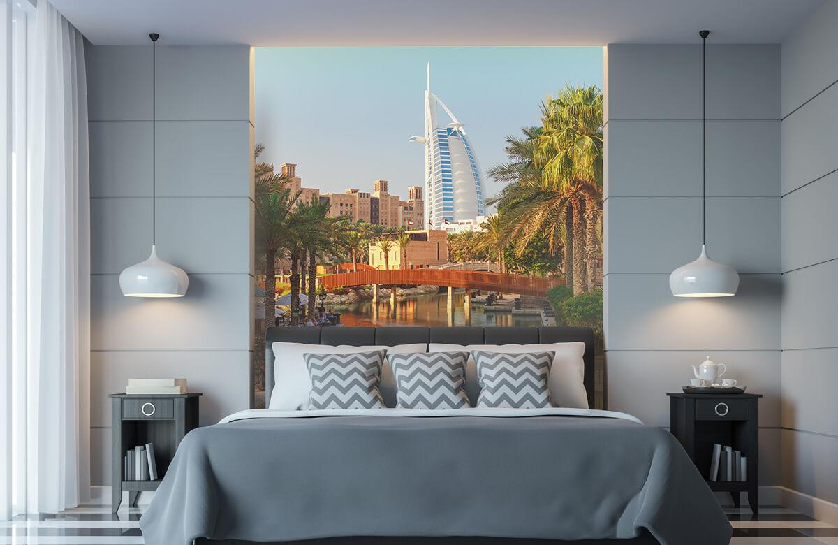Steden behang - Dubai, Jumeirah beach hotel - Slaapkamer 8