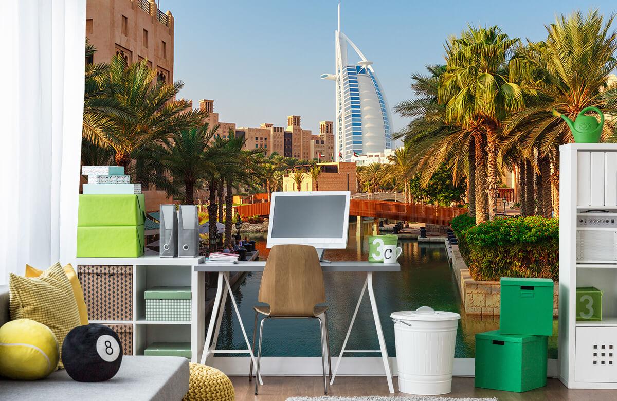 Steden behang - Dubai, Jumeirah beach hotel - Slaapkamer 9