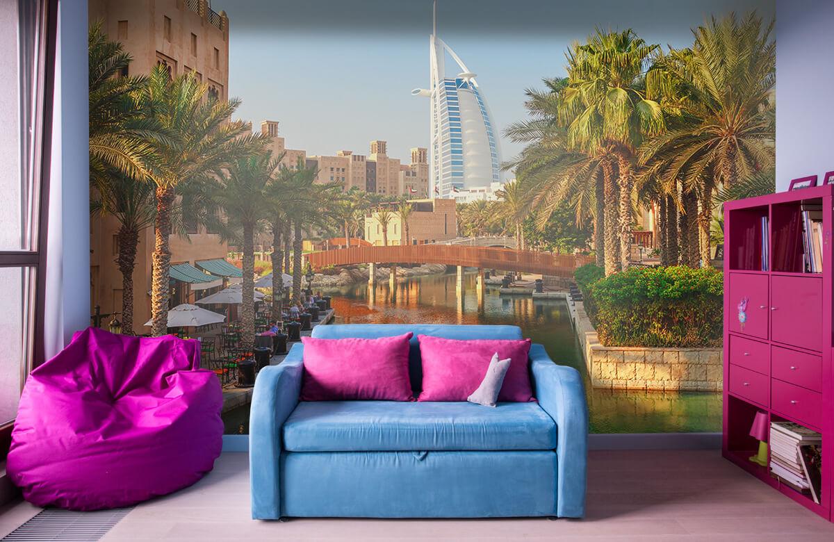 Steden behang - Dubai, Jumeirah beach hotel - Slaapkamer 10