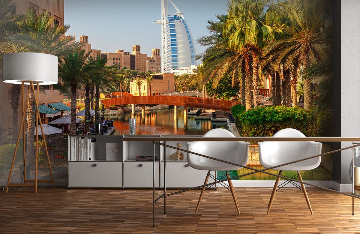 Steden behang - Dubai, Jumeirah beach hotel - Slaapkamer 11