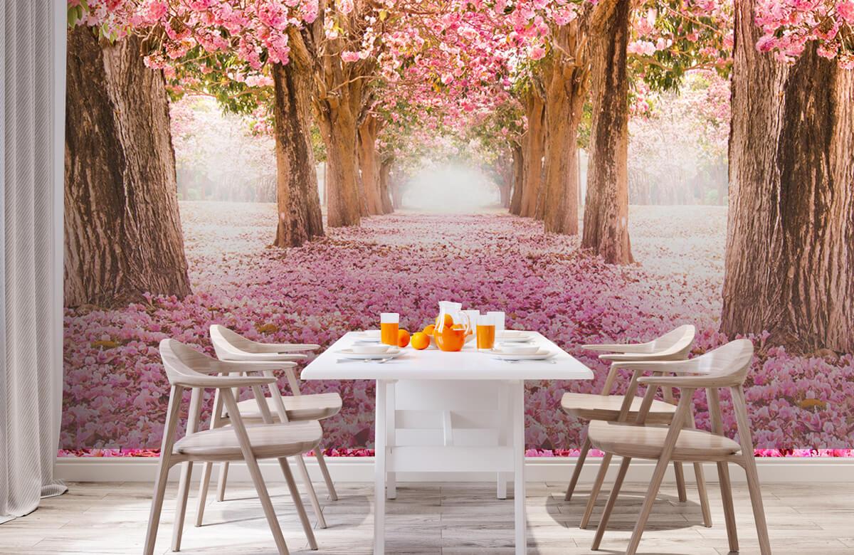 Bloemen, planten en bomen Fotobehang bloesem 1