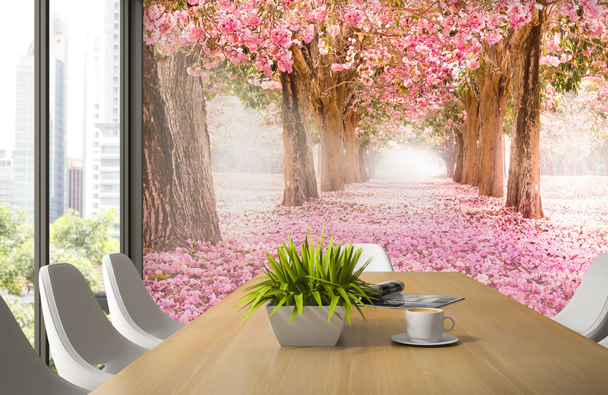 Bloemen, planten en bomen Fotobehang bloesem 2