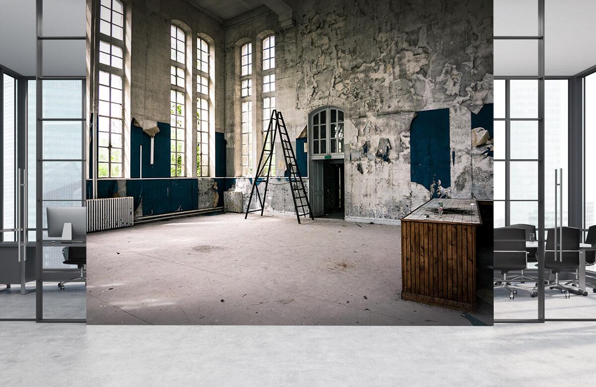 Gebouwen - Verlaten ruimte - Woonkamer 3