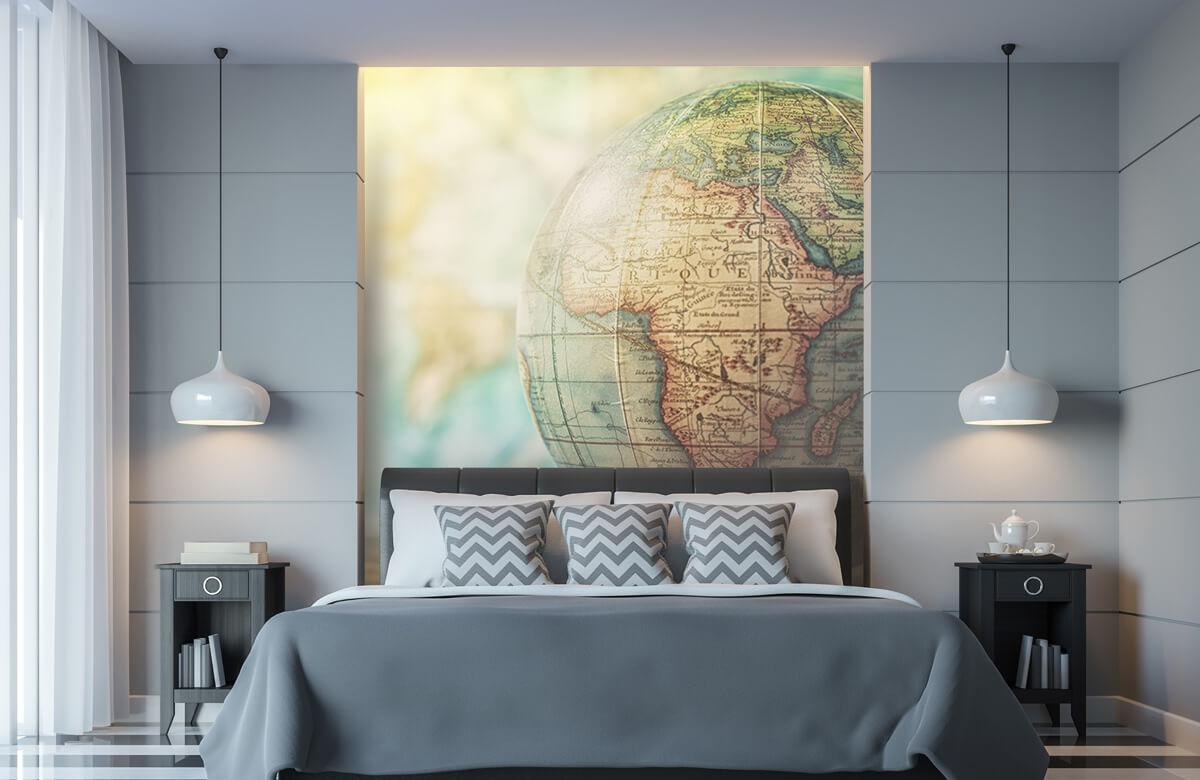 Wereldkaart behang - Wereldbol - Slaapkamer 8