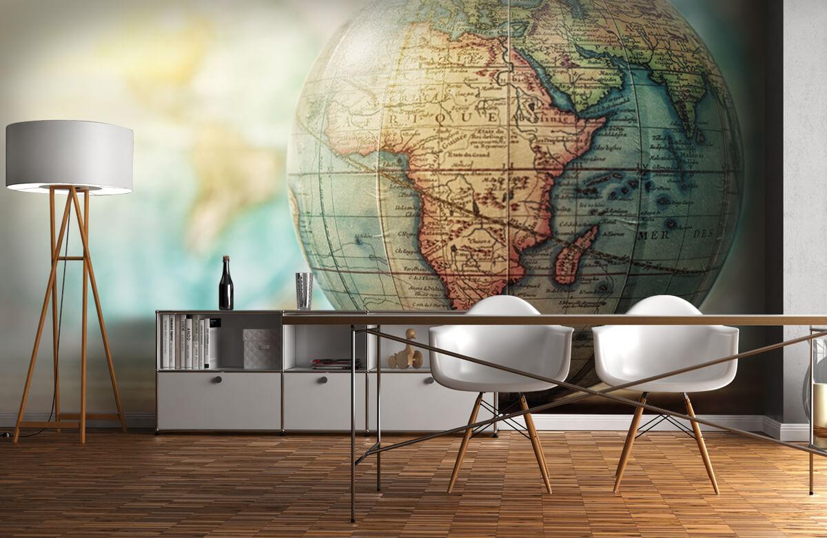 Wereldkaart behang - Wereldbol - Slaapkamer 11