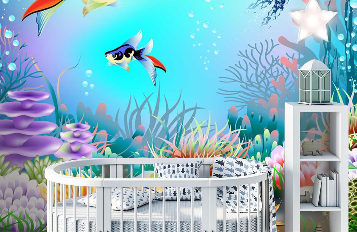 Vissen - Vissen in de zee - Kinderkamer 5