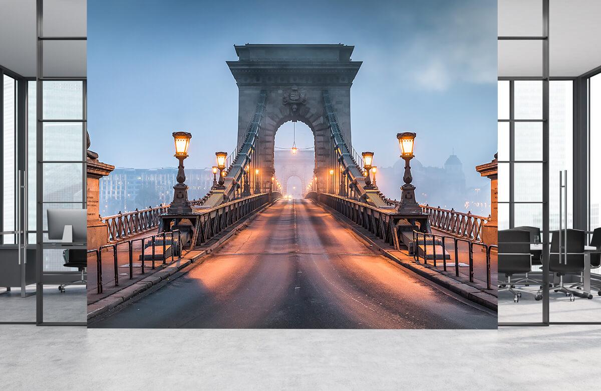 Bruggen - Kettingbrug in Boedapest - Slaapkamer 3