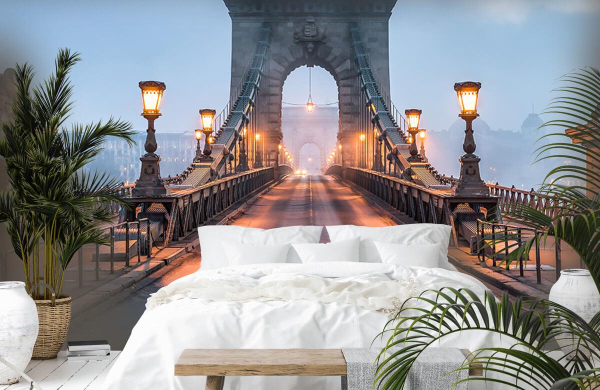 Bruggen - Kettingbrug in Boedapest - Slaapkamer 6