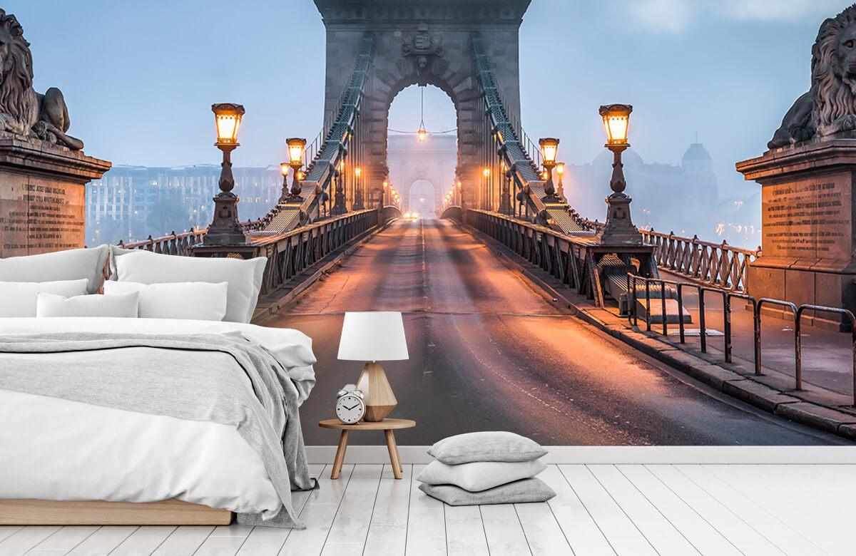 Bruggen - Kettingbrug in Boedapest - Slaapkamer 7
