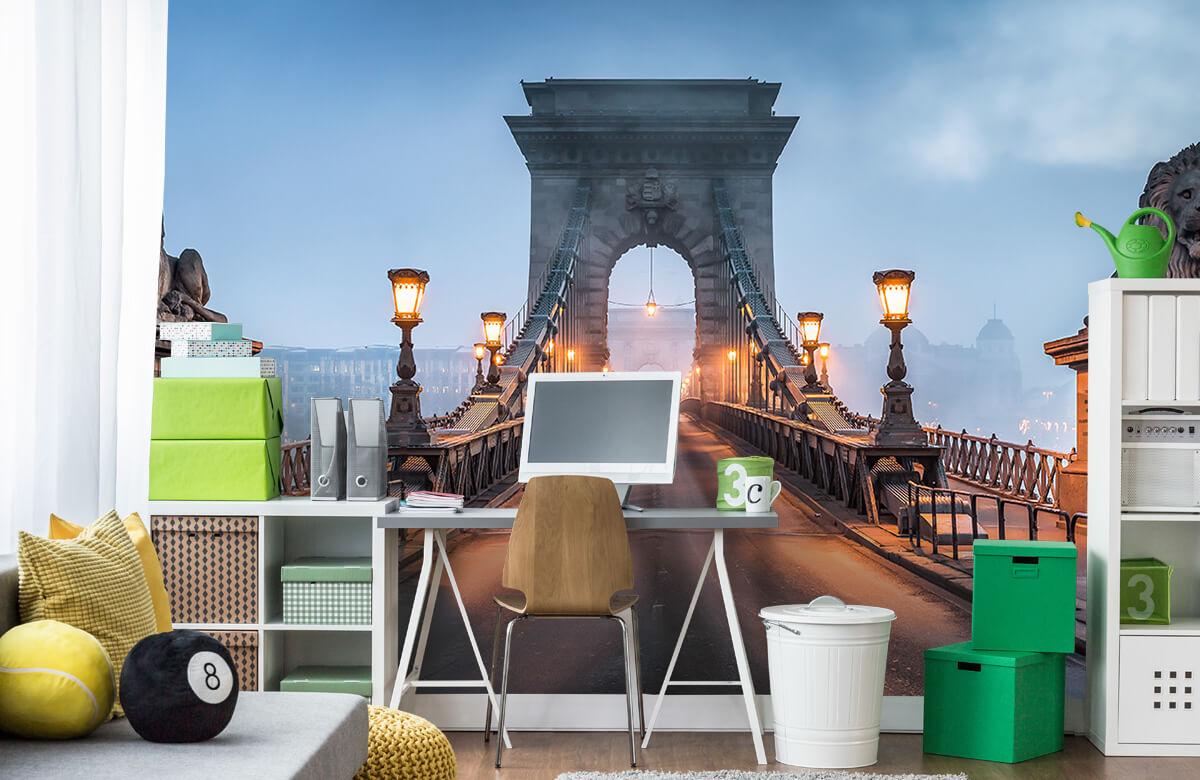 Bruggen - Kettingbrug in Boedapest - Slaapkamer 9