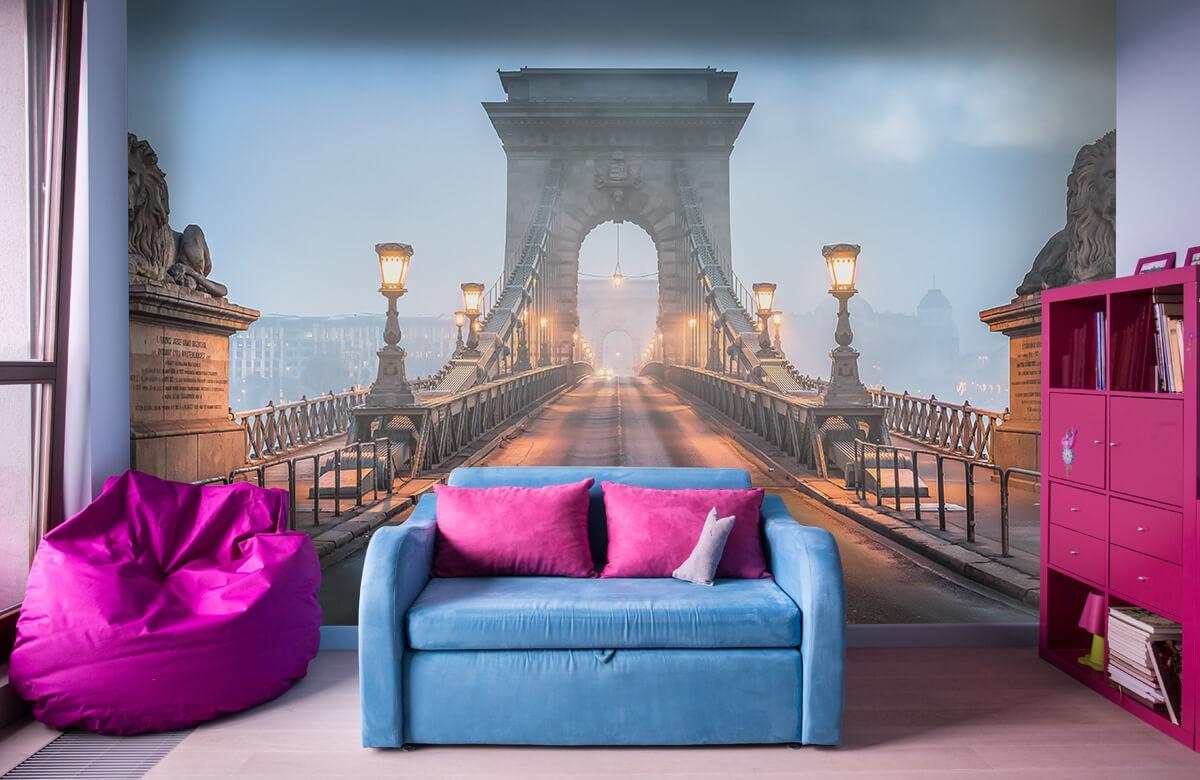 Bruggen - Kettingbrug in Boedapest - Slaapkamer 10
