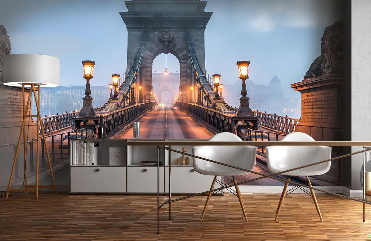 Bruggen - Kettingbrug in Boedapest - Slaapkamer 11